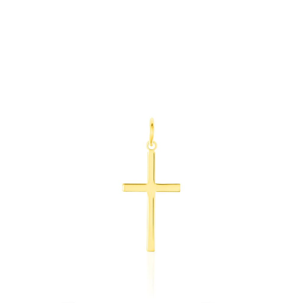 Unisex Anhänger Gold 333 Kreuz - Kreuzanhänger Unisex   Oro Vivo