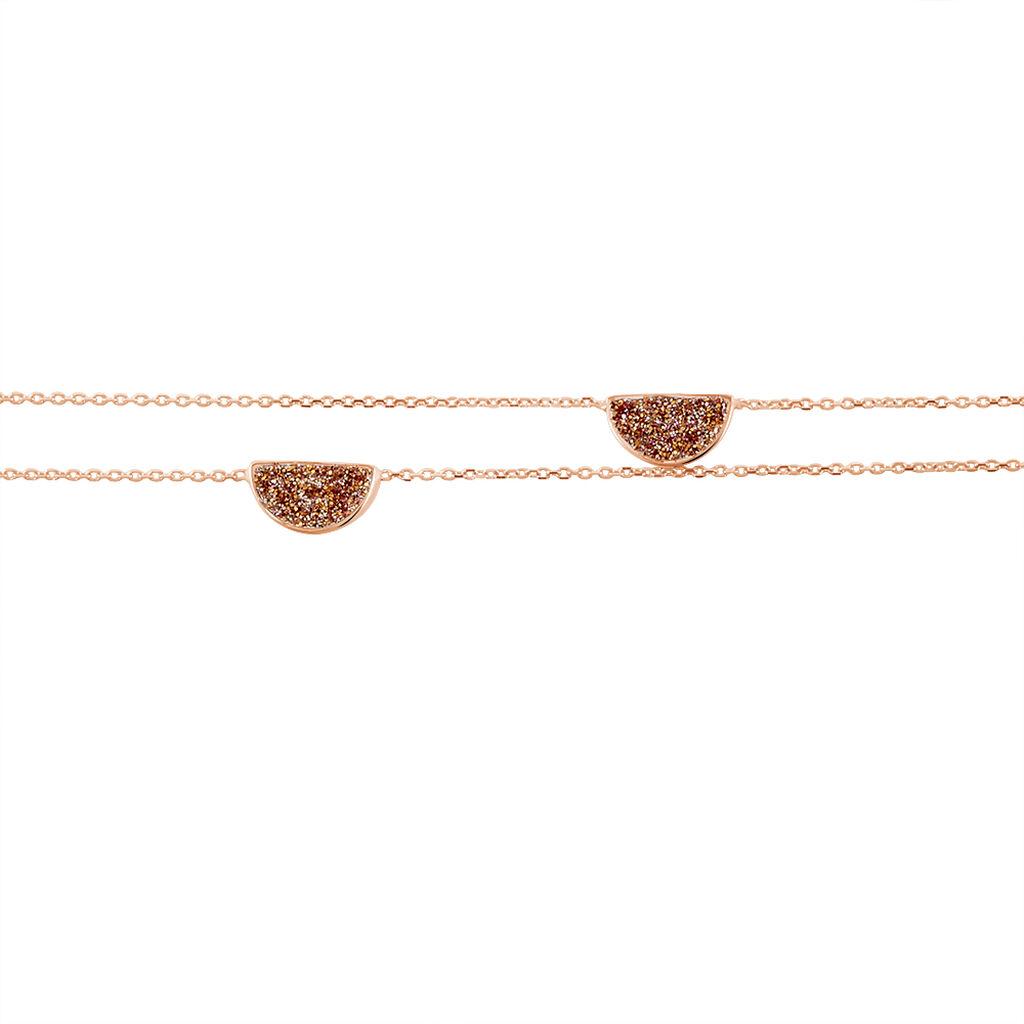 Damenarmband Gold 375 Rosé Vergoldet  - Armbänder Damen | Oro Vivo