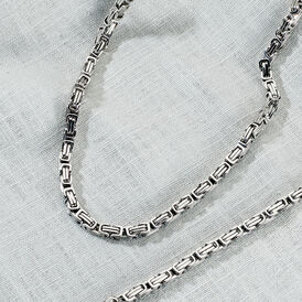 Herren Königskette Edelstahl 50cm - Ketten ohne Anhänger Herren | Oro Vivo