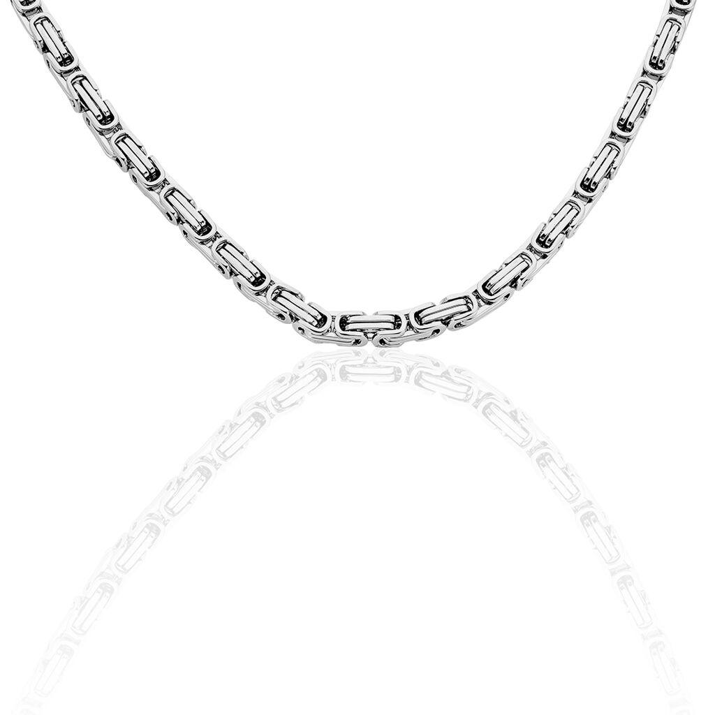 Herren Königskette Edelstahl 70cm - Ketten ohne Anhänger Herren   Oro Vivo