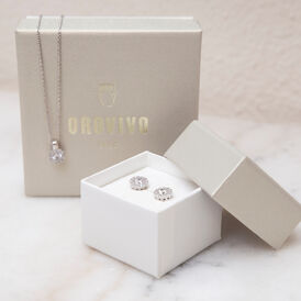 Damen Ohrstecker Silber 925 Zirkonia - Ohrstecker    Oro Vivo