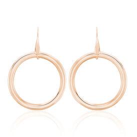 Damen Ohrhänger Lang Edelstahl Rosé Vergoldet  - Ohrhänger  | Oro Vivo