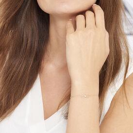 Damenarmband Gold 375 Infinity - Armbänder Damen | Oro Vivo