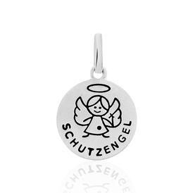 Kinderanhänger Silber 925 Schutzengel - Schmuckanhänger Kinder   Oro Vivo
