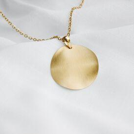 Damen Halskette Edelstahl Vergoldet  -  Damen | Oro Vivo