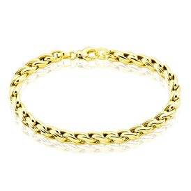Damenarmband Ankerkette Gold 375 gedreht L 19cm - Armketten Damen | Oro Vivo