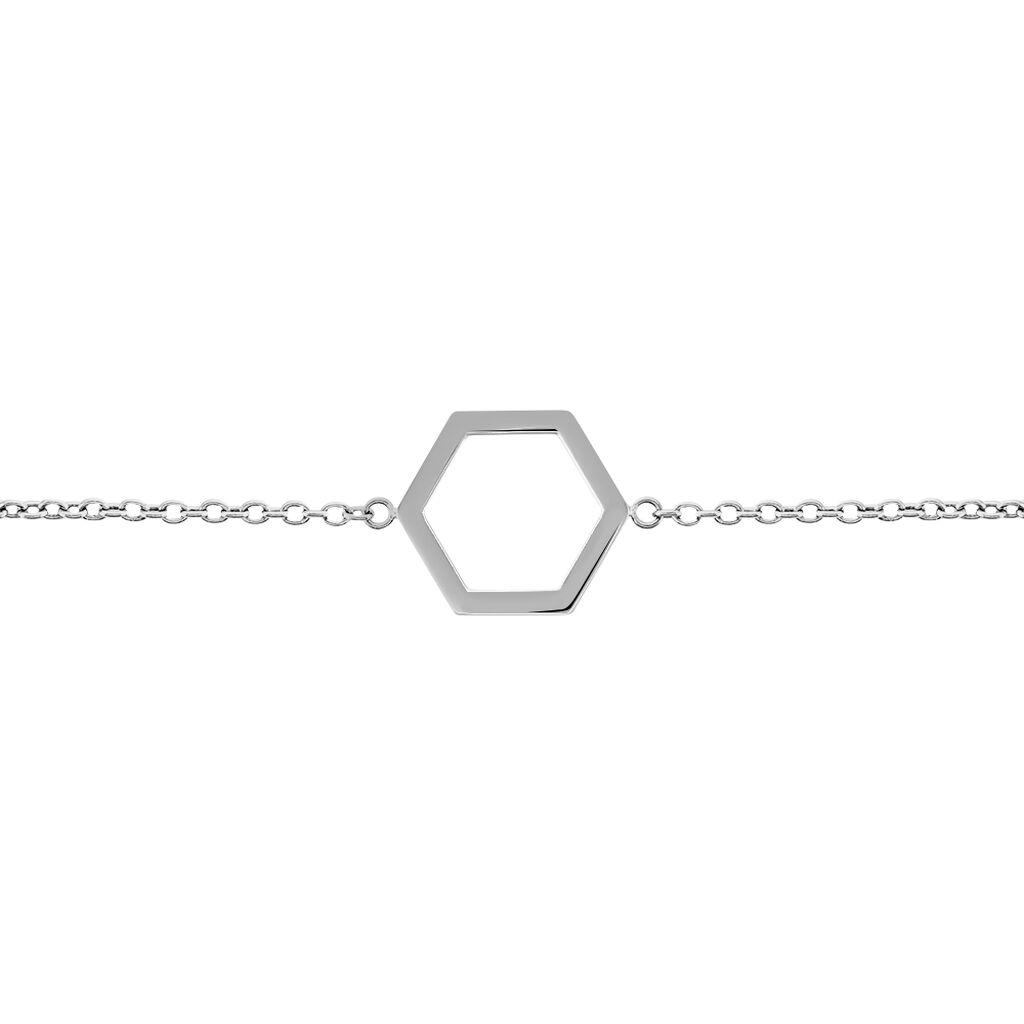 Boccia Damenarmband Titan Sechseck 03022-01 - Armbänder Damen | Oro Vivo