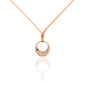 Damen Halskette Edelstahl Rosé Vergoldet Kristall - Black Friday Damen | Oro Vivo