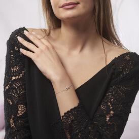 Damenarmband Silber 925 Zirkonia Infinity - Armbänder Damen | Oro Vivo