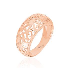 Damenring Gold 333 Rosé Vergoldet - Ringe Damen   Oro Vivo