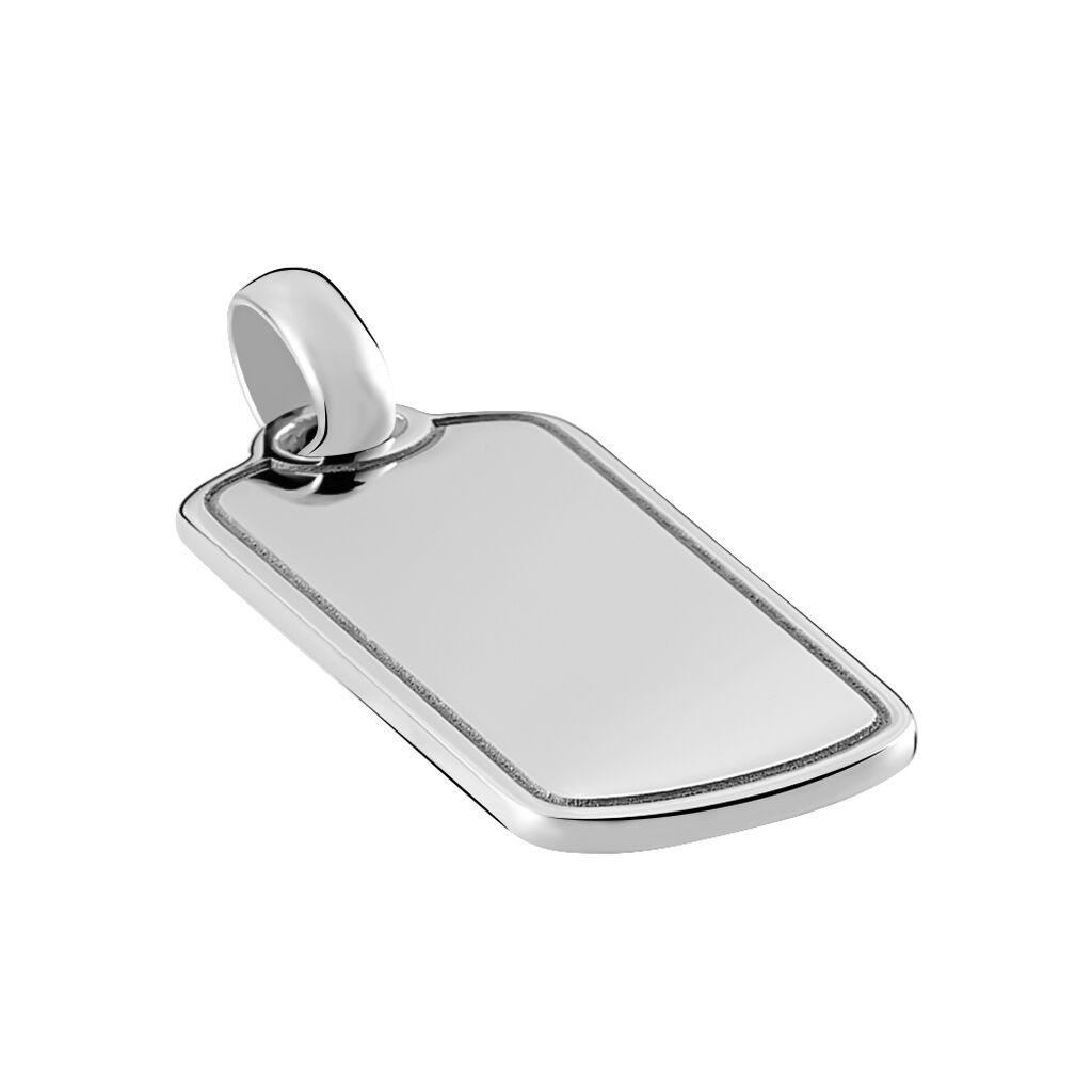 Unisex Anhänger Silber 925 Gravierbar - Personalisierte Geschenke Unisex | Oro Vivo