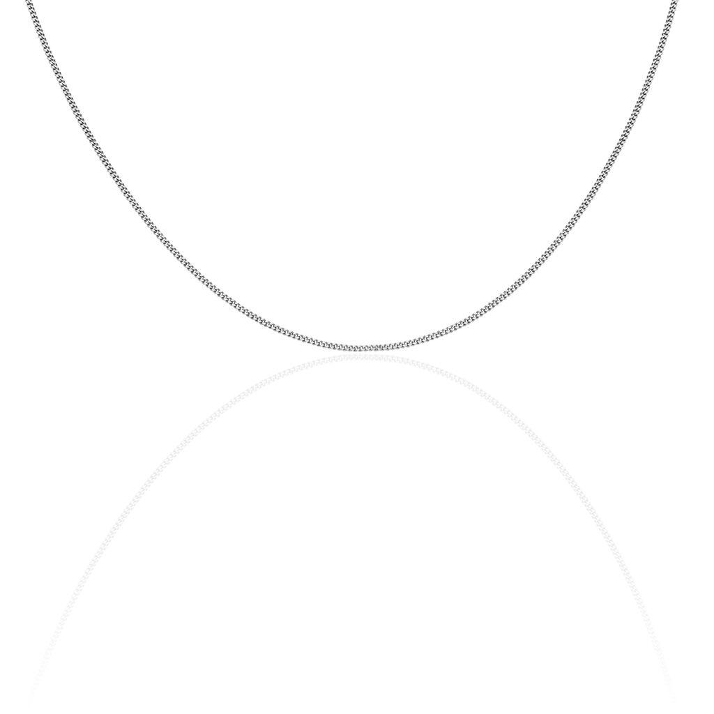 Damen Panzerkette Silber 925 45cm - Ketten ohne Anhänger Damen | Oro Vivo
