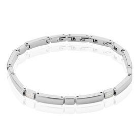 Damenarmband Edelstahl Zirkonia  - Armbänder Damen | Oro Vivo
