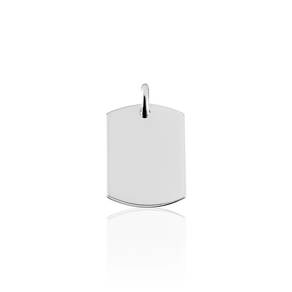 Unisex Anhänger Silber 925 Rhodiniert Gravierbar - Personalisierte Geschenke Unisex   Oro Vivo