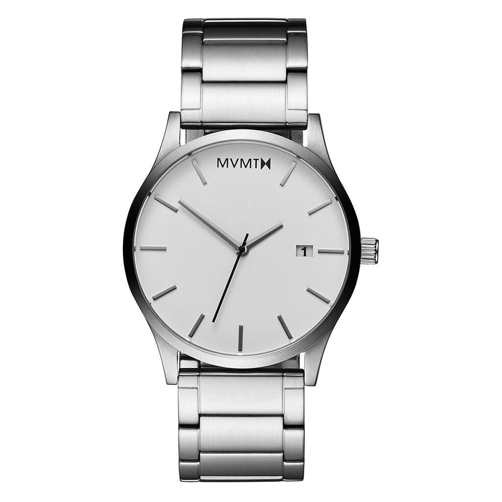 Mvmt Herrenuhr Classic White Silver L213.1b.131 - Analoguhren Herren | Oro Vivo