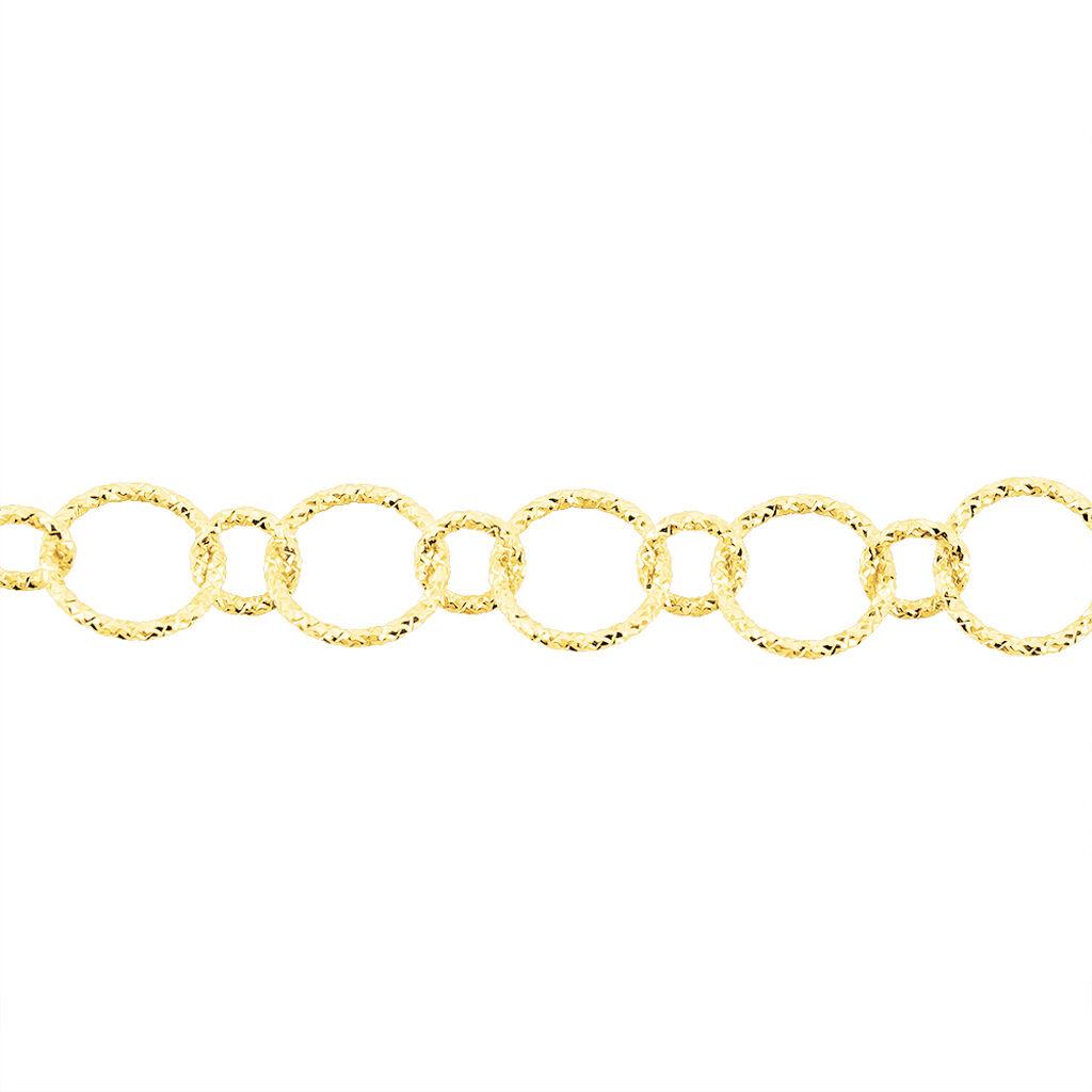 Damenarmband Gold 375 Kreis - Armbänder Damen   Oro Vivo