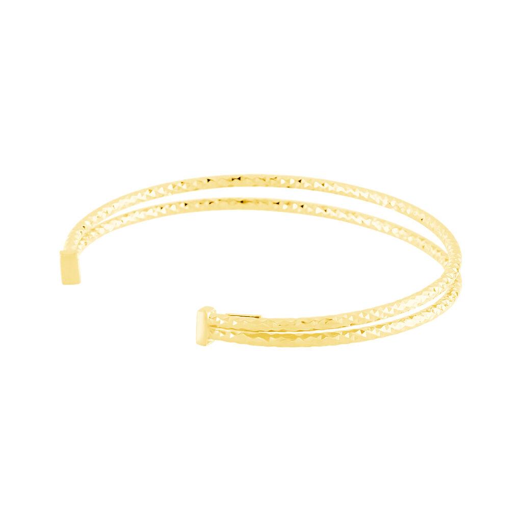 Damen Armreif Silber 925 Vergoldet  - Armreifen Damen | Oro Vivo