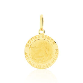 Anhänger Gold 585 Schutzengel -  Damen | Oro Vivo