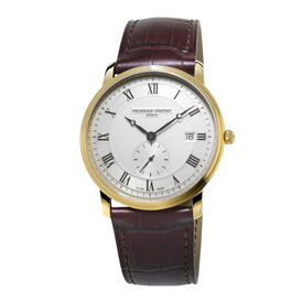 Frederique Constant Herrenuhr Slimline Gents - Black Friday Herren | Oro Vivo