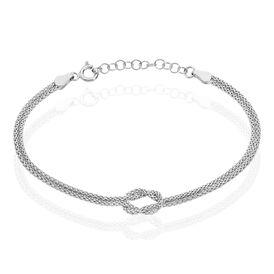 Damenarmband Popcornkette Silber 925 Knoten -  Damen | Oro Vivo