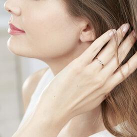 Damenring Gold 375 Diamant - Ringe mit Edelsteinen Damen | Oro Vivo
