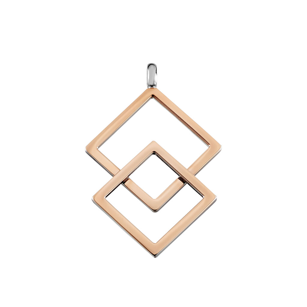 Boccia Damen Halskette Titan Rosé Vergoldet  - Ketten mit Anhänger Damen | Oro Vivo
