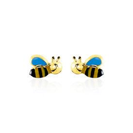 Kinder Ohrstecker Gold 375 Biene - Ohrstecker Kinder | Oro Vivo
