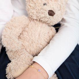 Kinder Id Armband Gold 375 Maus - ID-Armbänder Kinder   Oro Vivo