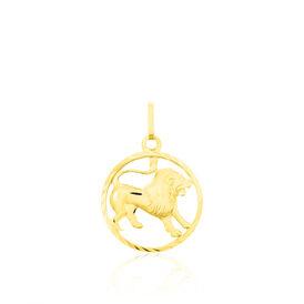 Unisex Anhänger Gold 333 Sternzeichen Löwe - Personalisierte Geschenke Unisex | Oro Vivo