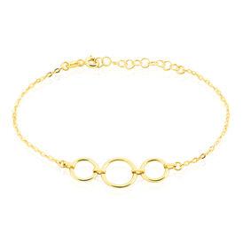 Damenarmband Gold 375 Kreis -  Damen | Oro Vivo