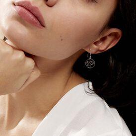 Damen Ohrhänger Lang Silber 925 Lebensbaum - Ohrhänger Damen   Oro Vivo