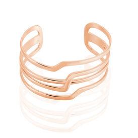 Damen Armreif Edelstahl Rosé Vergoldet - Armreifen Damen | Oro Vivo