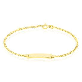 Unisex Id Armband Gold 375  - ID-Armbänder Unisex | Oro Vivo