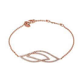 Damenarmband Zirkonia Rosé Vergoldet  - Armbänder Damen | Oro Vivo