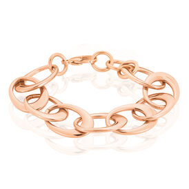 Damenarmband Edelstahl Rosé Vergoldet  - Black Friday Damen | Oro Vivo