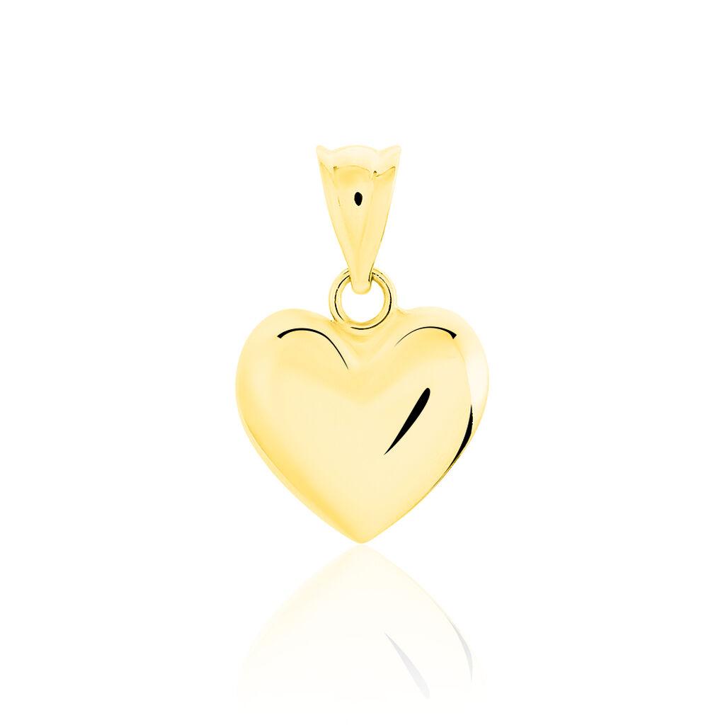 Anhänger Gold 585 Herz - Herzanhänger Damen | Oro Vivo