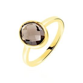 Damenring Gold 375 Rauchquarz 1,2ct - Ringe mit Stein Damen | Oro Vivo