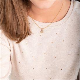 Kinderanhänger Gold 375 Schutzengel - Schmuckanhänger Kinder   Oro Vivo