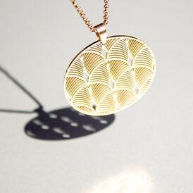 Damen Halskette Edelstahl Rosé Vergoldet - Ketten mit Anhänger Damen | Oro Vivo