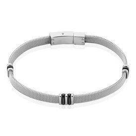 Herrenarmband Milanaisekette Edelstahl  - Armbänder Herren | Oro Vivo