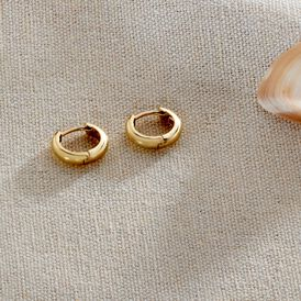 Damen Creolen Gold 333  - Creolen Damen   Oro Vivo
