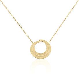 Damen Halskette Messing Gold plattiert  - Ketten mit Anhänger Damen | Oro Vivo