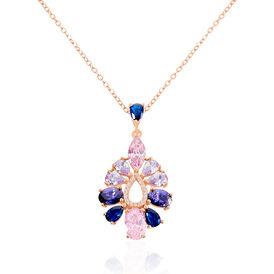 Damen Halskette Silber 925 Rosé Vergoldet - Black Friday Damen | Oro Vivo