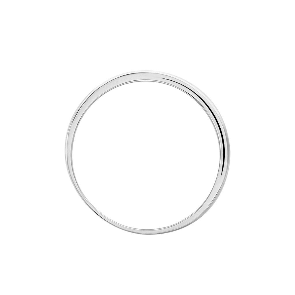 Damenring Weißgold 375 Diamant 0,044ct - Eheringe Damen | Oro Vivo