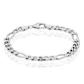 Damenarmband Figarokette Silber 925  - Armketten Damen   Oro Vivo