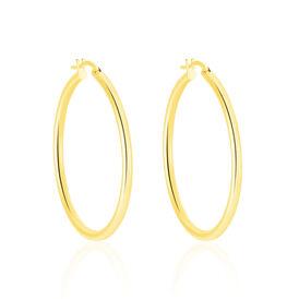 Damen Creolen Gold 585 30mm - Creolen Damen | Oro Vivo