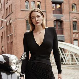 Damen Halskette Weißgold 375 Diamanten 0,3ct - Black Friday Damen | Oro Vivo