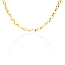 Damen Collier Gold 375 45cm - Ketten ohne Anhänger Damen | Oro Vivo