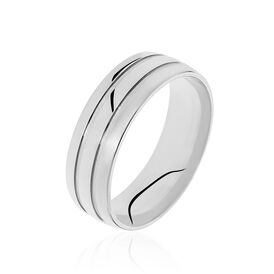 Unisex Ehering Silber 925 - Eheringe Unisex   Oro Vivo