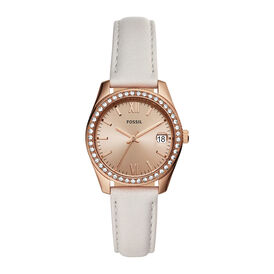 Fossil Damenuhr Scarlett Es4556 Quarz - Black Friday Damen | Oro Vivo